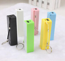New 2600mAh Perfume Mini Mobile Charge Power Bank Charger For iPhone Samsung DE