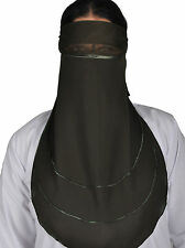 Niqab - Hijab face veil, Burka Khimar islamic prayer clothes - HJ00180