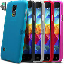 COQUE HOUSSE SAMSUNG GALAXY S5 MINI ★ SEMI RIGIDE EXTRA FIN MAT/BRILLANT ★ +FILM