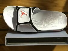 JORDAN HYDRO 3 SLIDE MENS 630754 023 PURE PLATINUMWHITE/INFRARED-BLACK