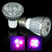 6w/10w Growing Medical Hydroponic LED Grow Light Lamp E27/GU10 Free Shipping
