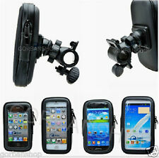 Bike Bicycle Mount Holder Stand Waterproof Case Samsung Sony HTC Nokia Iphone