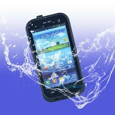 Waterproof Shockproof Dirt Snow Proof Case Cover for Samsung Galaxy S3 S III BK