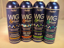 DeMert Wig&Weave System For Natural&Synthetic Wigs, Wigs and Extension 4 types!