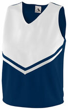 Augusta Sportswear Women's Two Color Rib Knit V-Neck Sleeveless Jersey. 9110