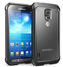 SUPCASE Samsung Galaxy S5 Active Case - Unicorn Beetle Hybrid Case Clear/Black