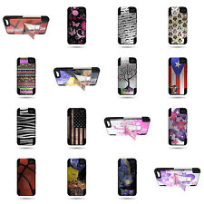 For Amazon Fire Phone Dual Layer Hybrid Stand w/ Custom Design Phone Cover Case