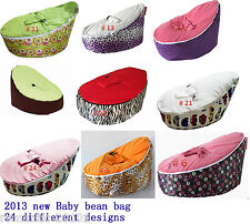 Baby Bean Bag Chair and Bed for Infants Toddlers/Kids without filling Beanbag
