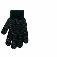 BLACK GRIPPER THERMAL MAGIC GLOVES Warm Winter Driving One Size Mens/Womens NEW