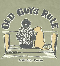 OLD GUYS RULE CLASSIC DOG'S BEST FRIEND TEE SHIRT