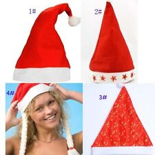 Santa Hat Child Adult Nonwoven Fabric Christmas Hat Party Christmas Gift Cap