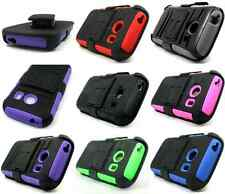 For Samsung Galaxy Ace Style S765C Robotic Holster Combo Belt Clip Stand Case