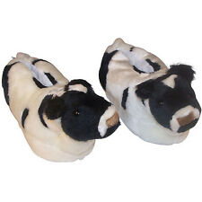 Comfy Feet Cow Slippers