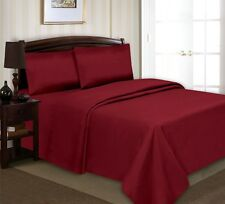 New 4 Piece Luxury Bed Sheet Set Extra Deep Pocket  All Sizes All Colors