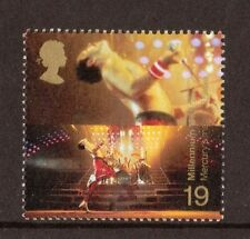 L@@K QUEEN FREDDIE MERCURY GREAT BRITAIN STAMP - ISSUED 1999 - MINT NEVER HINGED