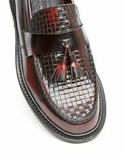 Delicious Junction Exclusive Basketweave Loafers Mod Shoe Locky 2 Ox Blood