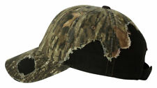 Outdoor Cap Frayed Camouflage Camo Hat BSH600 Mossy Oak or Realtree AP