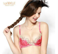 LaEIBELLE Ladie Sexy Lace Llned Bra Push-Up padded underwire bra B/C/D CUP C1210