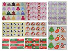 Christmas Stickers/Peel Off Seal Label Sheet for Craft/Cardmaking/Scrapbooking