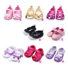New Baby Shoes Newborn Infant Girls Soft Sole Shoes NB-12 Months