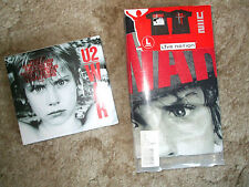 U2 WAR - Rare Ltd Deluxe 2-CD and T-Shirt - New & Sealed