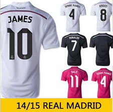 Real Madrid Home And Away 2014/2015 Football Soccer Shirt Jersey Good Quality