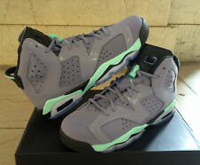 Nike Air Jordan 6 VI Retro Bleached Turquoise Sz 6C-7y GS PS Boys Purple Black