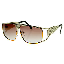 Large Metal Elvis Style Glasses Sunglasses w/ Rhinestones
