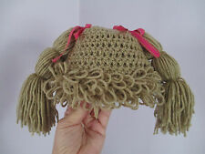 BABY / TODDLER / GIRL CABBAGE PATCH WIG HAT, YOU PICK SIZE and COLOR!