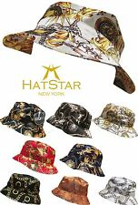 New Bucket Hat Boonie Gold Medallion Hunting Fishing Outdoor Cap Unisex Cotton