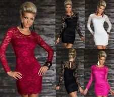 Women's high quality long sleeve Elegant Sexy Club Cocktail Dress A200A 4colors