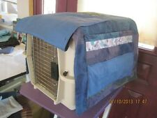 Custom Made Dog Crate Covers You Pick Color Pattern Size Handmade LARGE