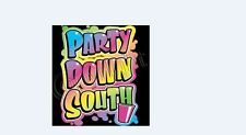 PARTY DOWN SOUTH NEW ADULT BLACK T SHIRT