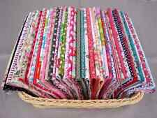 "50pcs assorted pre-cut mixed series 100% cotton Quilt fabric DIY 4.7""x7.8"""
