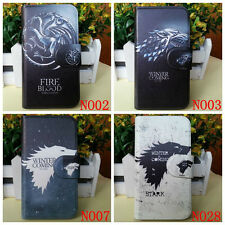 Hot STARK Game of Thrones Badge PU leather flip case cover & Card slot for Nokia