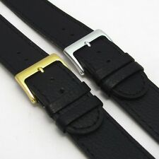Leather Watch Band Strap XXL Super-Long Choice of Sizes/Buckles