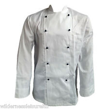 White Chefs Top / Shirt / Jacket, Commercial / Industrial Catering Uniform, New