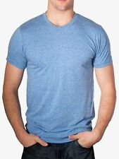 American Apparel  TR401 Tri Blend Vintage Style Track T Shirt  XS-2XL