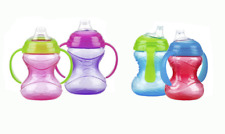 NUBY HANDLE NO-SPILL CLICK-IT CUP SIZE 8 OZ MODEL-10128