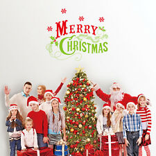 Christmas Decoration Removable Vinyl Window Wall StickerS Decal Home decor