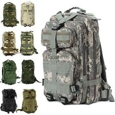 Outdoor Military Tactical Backpack Rucksacks Sport Camping Hiking Trekking Bag