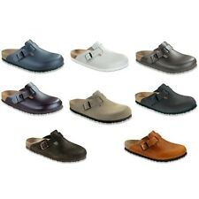 Birkenstock Boston Leather Clogs regular and narrow width different colors
