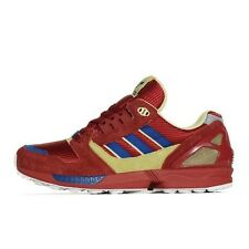 Men's Adidas ZX 8000 25th Anniversary Red Blue Yellow D65473 Running Trainer