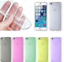 "For Apple New iPhone 6 4.7"" Clear 0.3mm Ultra Thin Soft Gel Slim Case Cover Skin"