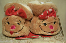 SANTA or GINGERBREAD~INFANT XS 1-2 PRE WALK BOOTIES Christmas Shoe Slipper~BABY