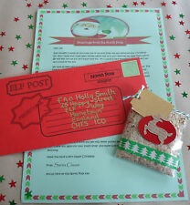 Letter from Santa/ FC with up to *9* Personalised Elements & FREE Reindeer Food