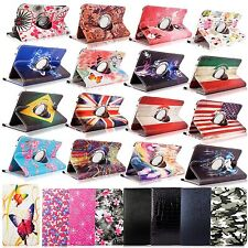 360 Degree Rotating Pu Leather Flip Folio Stand Case For Samsung Microsoft Asus