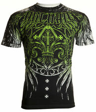 Archaic AFFLICTION Men T-Shirt WRECKAGE Fighter Biker MMA UFC American M-4XL $40