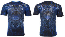 Xtreme Couture AFFLICTION Men T-Shirt HONORABLE Wings Tattoo Biker UFC M-4XL $40