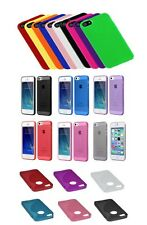 Slim TPU Solid Silicone Gel Rubber Soft Skin Case Cover For iPhone 5/5s 5 SE